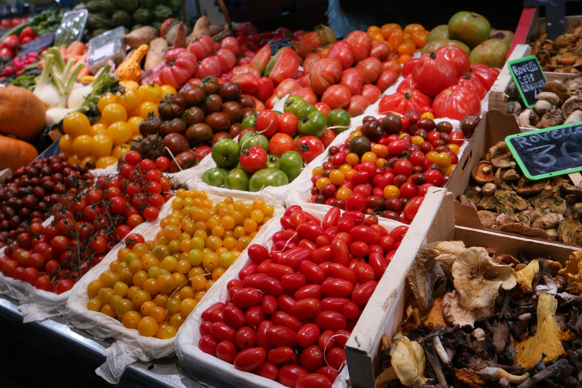 Santa Caterina Market, Barcelona Food Sherpa